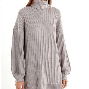 88a78cd916 Urban Outfitters Sweaters - UO Jill Turtleneck Sweater Mini Dress